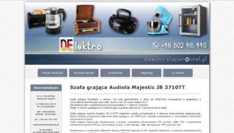 Szablon allegro - firma DElektro